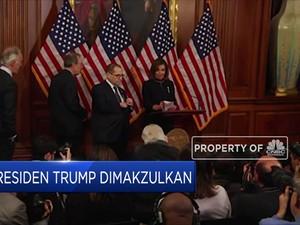 Jajaran Presiden AS Yang Menghadapi Pemakzulan