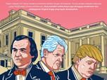 Senasib dengan Trump, Presiden AS Lain Pernah Kena Pemakzulan