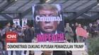 VIDEO: Demonstrasi Dukung Putusan Pemakzulan Trump
