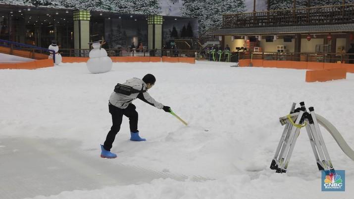 Yes.. Trans Snow World Bintaro Sudah Dibuka, Ayo Main Salju!