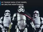 Sebelum Nonton, Simak Urutan Film Saga Star Wars Berikut Ini