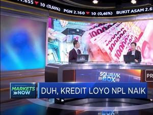Analis: Kredit Loyo NPL Naik Cerminan Perlambatan Ekonomi