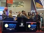 Debut Perdana, Saham Uni-Charm Naik 14%