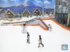 Mau Liburan Natal ala di Jepang? Yuk Main Salju di Bintaro