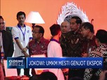 Jokowi: UMKM Mesti Genjot Ekspor