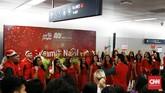 Tak hanya dari Jakarta, peserta juga datang dari berbagai daerah seperti Tangerang dan Bandung. (CNN Indonesia/Andry Novelino)