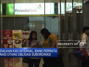 Bank Permata Lunasi Pokok & Bunga Obligasi Sekitar Rp 1,8 Tr