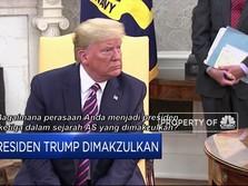 Dimakzulkan, Trump Masih Pede Gede