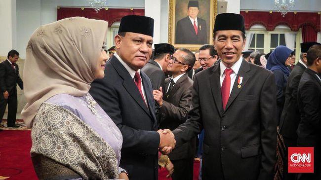 Jokowi Gelar Pertemuan Tertutup dengan Dewas dan Pimpinan KPK