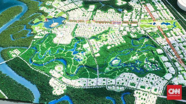 Jokowi Resmi Pilih Desain Ibu Kota Baru