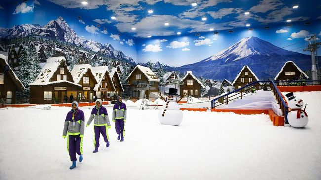 Tiket Trans Snow World Bintaro Diskon 25 Persen, Buruan Pesan