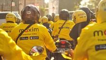 Ojol Maxim 'Todong' Pemerintah Agar Motor Jadi Angkutan Umum