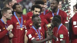 Suasana Ruang Ganti Liverpool Usai Juara Piala Dunia Klub