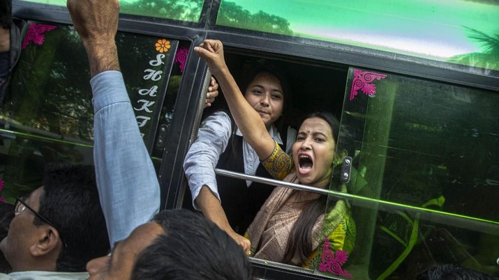 Dahsyatnya Demo India yang Geger karena UU 'Anti Muslim'