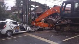 Kecelakaan Truk Pembawa Alat Berat, 7 Tewas di Pasuruan