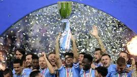 FOTO: Lazio Tumbangkan Juventus di Piala Super Italia