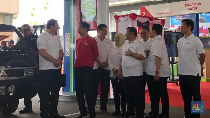 Presiden Joko Widodo (Jokowi) menegaskan usaha menekan impor solar harus dilakukan serius.