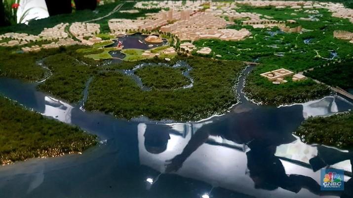 Kepala Bappenas Suharso Monoarfa menegaskan pemerintah berkomitmen menjaga lingkungan kawasan delta Mahakam lokasi ibu kota baru.
