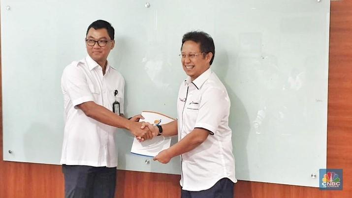 Darmawan Prasodjo, mantan staf Luhut Binsar Pandjaitan saat di Kantor Staf Presiden resmi menjabat sebagai Wakil Direktur Utama PLN.