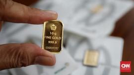 Awali Pekan, Harga Emas Antam Turun ke Rp769 Ribu per Gram