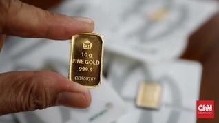Harga Emas Antam Mandek Jelang Kesepakatan Dagang AS-China