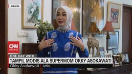 VIDEO: Tampil Modis Ala Supermom Okky Asokawati