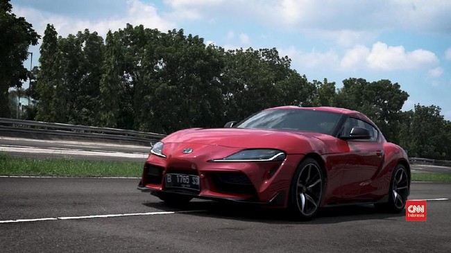 VIDEO: 'Dijambak' Toyota GR Supra