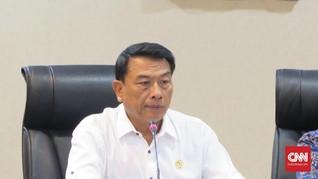 Moeldoko Angkat Suara soal Antisipasi Virus Corona China
