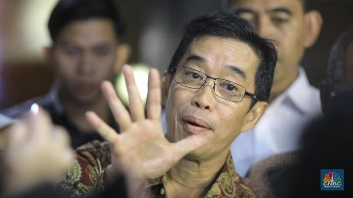 Direktur Utama PLN Zulkifli Zaini (CNBC Indonesia/Andrean Kristianto)