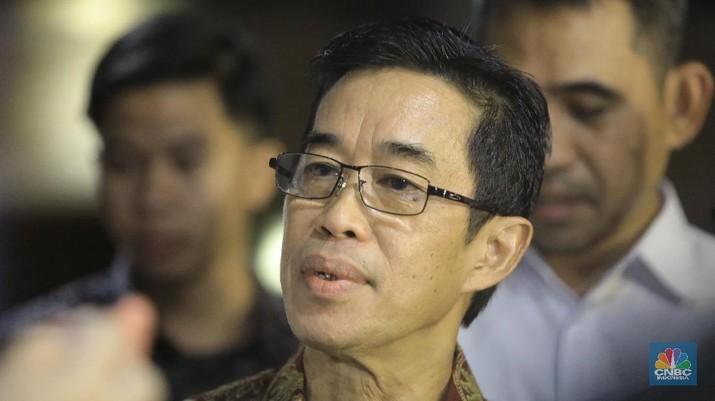 Zulkifli Zaini - Direktur Utama PLN (CNBC Indonesia/Andrean Kristianto)
