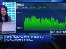 Santa Claus Rally Menghampiri, IHSG Menguat ke Level 6.305