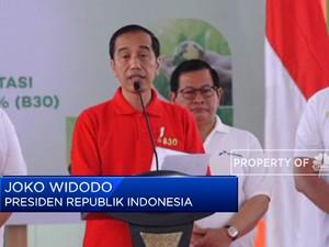 Mantap! Jokowi Resmikan Program B30