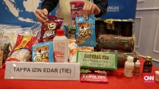 Jelang Natal, BPOM Temukan Makanan Senilai Rp3,97 M Tak Layak