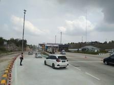 H-3 Natal, 19 ribu Kendaraan Lintasi Tol Trans Sumatera