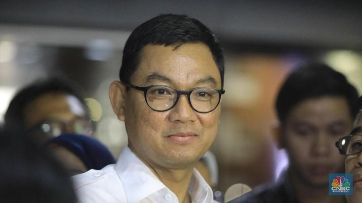 Wakil Direktur Utama PLN Darmawan Prasodjo (CNBC Indonesia/Andrean Kristianto)