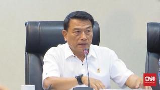 Moeldoko Bantah Punya Hubungan dengan Eks Dirkeu Jiwasraya