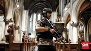 316 Gereja di Jakarta Masuk Skala Prioritas Pengamanan