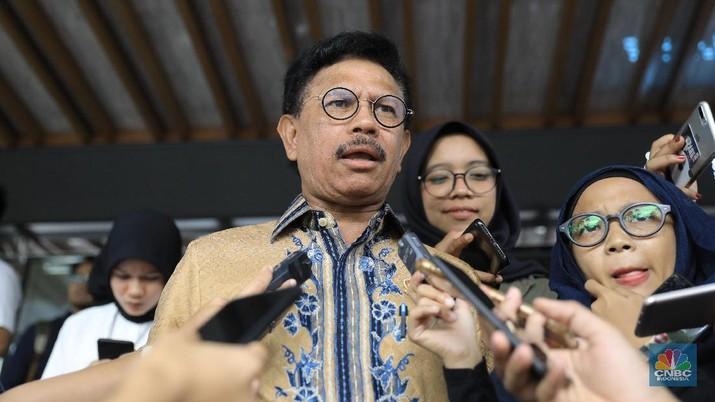 Menkominfo Johnny G. Plate mengatakan pihaknya telah menyerahkan draf Rancangan Undang-undang Perlindungan Data Pribadi ke DPR RI pada akhir minggu lalu.