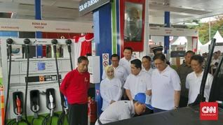 Jokowi Resmikan Program B30 Ditemani Ahok