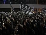 Demo Tahun Baru, Polisi Hong Kong Tangkap 400 Demonstran