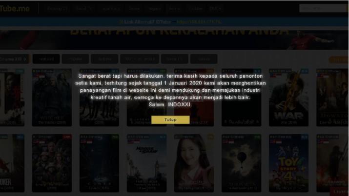 IndoXXI memutuskan tutup 1 Januari 2020. Ada yang situs web streaming ini diblokir Kominfo. Seperti apa fakta sebenarnya?