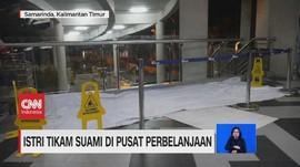 VIDEO: Istri Tikam Suami di Pusat Perbelanjaan