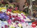 Penjual Bunga Kebanjiran Pesanan Jelang Malam Natal
