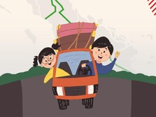 Tol Trans Sumatera Sambut Pemudik Nataru
