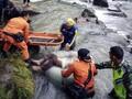 14 Orang Dinyatakan Hilang dalam Kecelakaan Bus Sriwijaya
