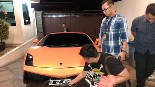 Pengemudi 'Koboi' Lamborghini di Kemang Taat Pajak