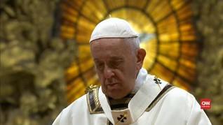 Italia Terjangkit Wabah, Paus Fransiskus Disebut Sakit Ringan