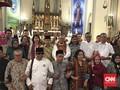 Saat Caknurian dan Gusdurian Ikut Bahagia di Natal Katedral