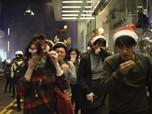 Di Hari Natal Demo Hong Kong Tetap Membara