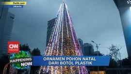 VIDEO: Ornamen Pohon Natal dari Botol Plastik